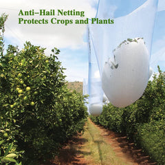 Anti-Hail Netting White,80G