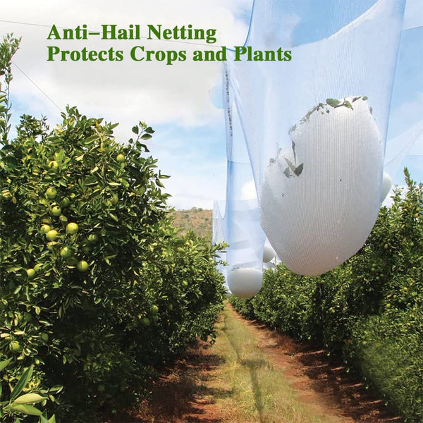 Anti-Hail Netting White,55G