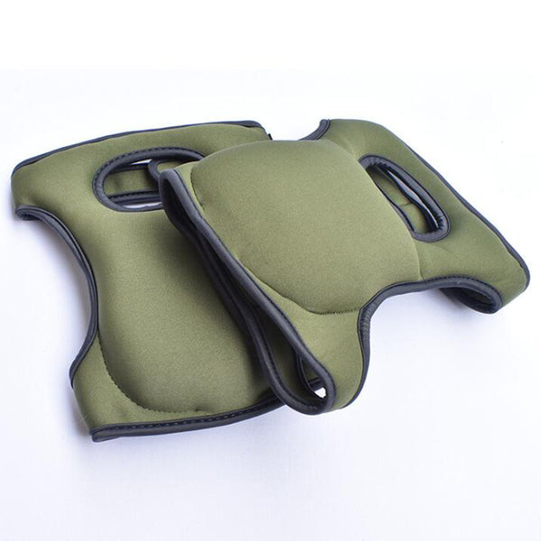 Memory Foam Knee Pads, Dark Green