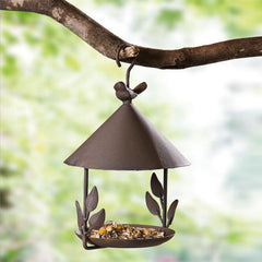 Hanging Metal Bird Feeder