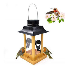 Squirrel Buster Solar Powered Hanging Bird Feeder