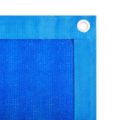 Security & Privacy Windscreen Fence with Grommets and Zip Ties,Blue