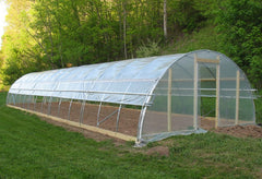 Thick Plastic Covering Clear Polyethylene Greenhouse Film 12x35ft