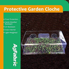 Plastic Protective Garden Cloche and Plant Cover