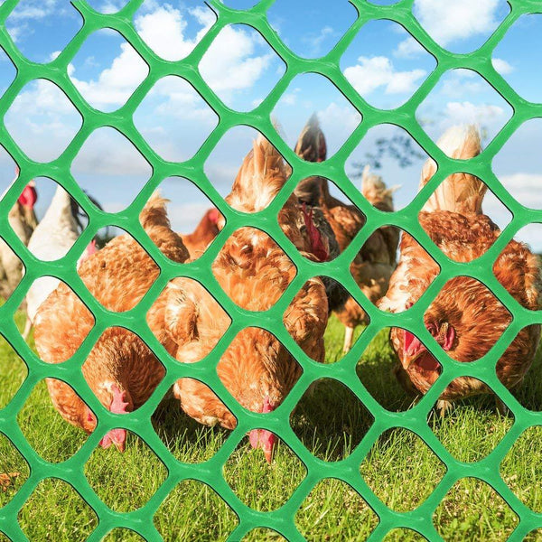 Plastic Poultry Fence Poultry Netting,Green