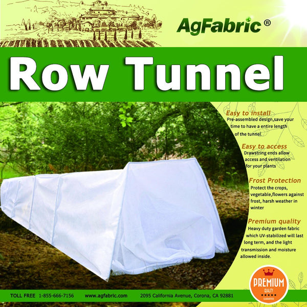 Agfabric floating row cover made with high quality UV stabilized spun polypropylene fabric
