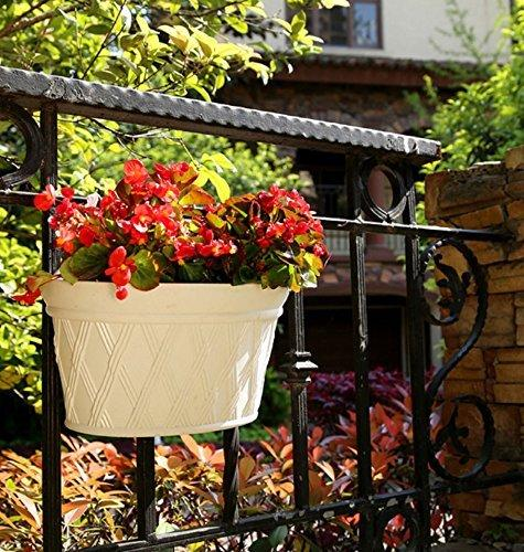 Plastic Wall-Mounted Planter