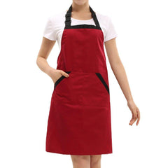 Waterproof Polyester Cotton Work Chef Graden Tool Apron with Pockets