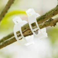 mini plant clips support tomatoes, peppers, vine plants and flowers