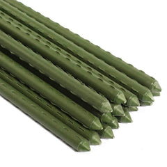 steel garden stakes plastic coated plant stakes for climbing plants