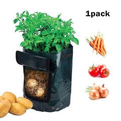 10 Gal Grow Bag, Potato Patio Planter Radish/Turnip Planter