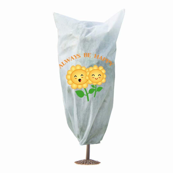 printed plant cover sunflower