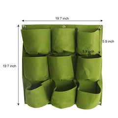 Vertical Grow Bags Garden Hanging Wall Planters