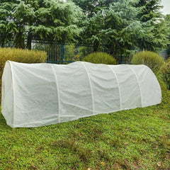 plant floating row cover for frost protection in winter
