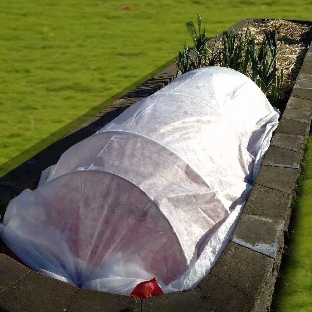 15oz Heavy Weight White Row Cover for Vegetables