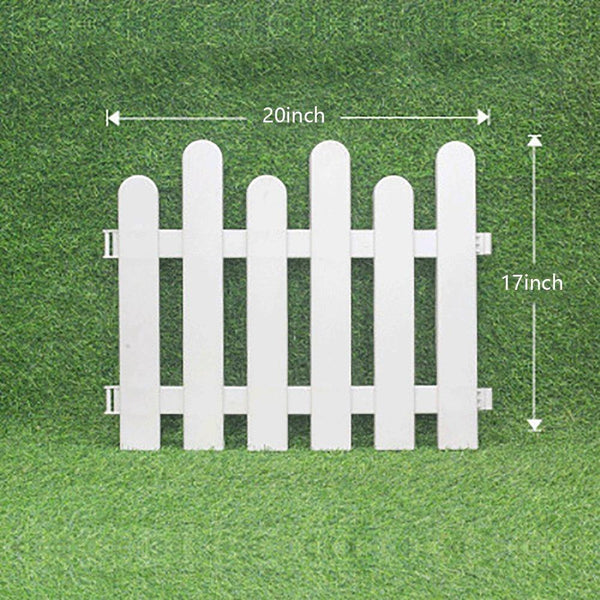 Picket Fence Decorative Garden Fence