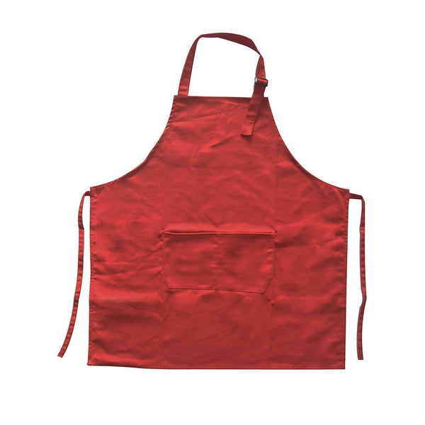 polyester-cotton kitchen cheffts home apron adjustable neck strap