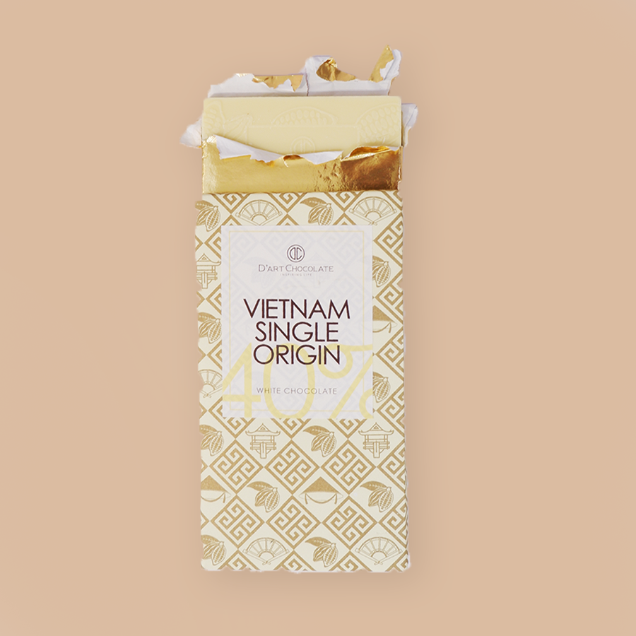 Vietnam Single Origin  40% - White Chocolate