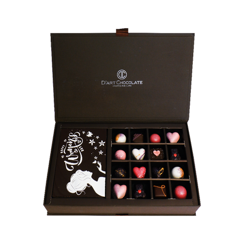1 Tier Premium Chocolate Box
