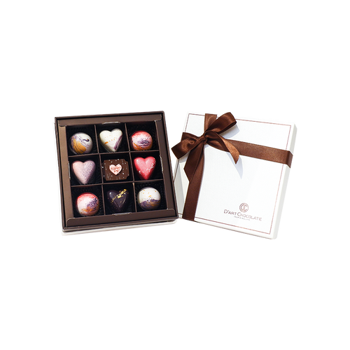 9 Bonbon Chocolate Box