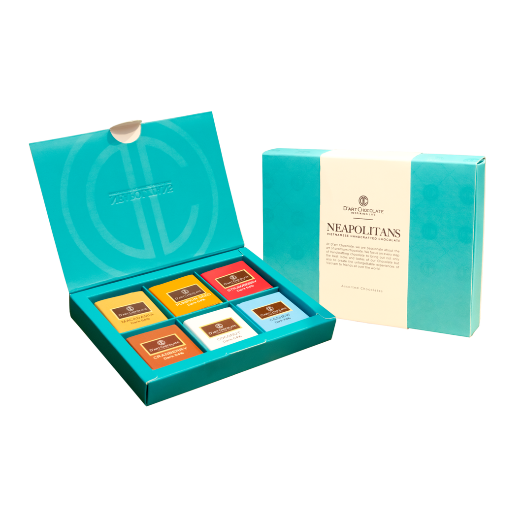 12 Pieces Neapolitans Gift Box