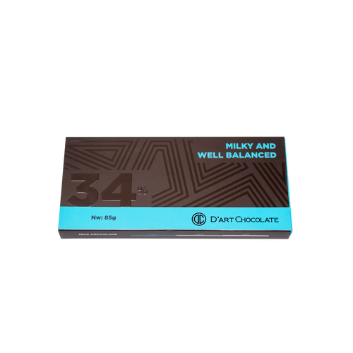 Premium Chocolate Bar 34% - Milk Chocolate