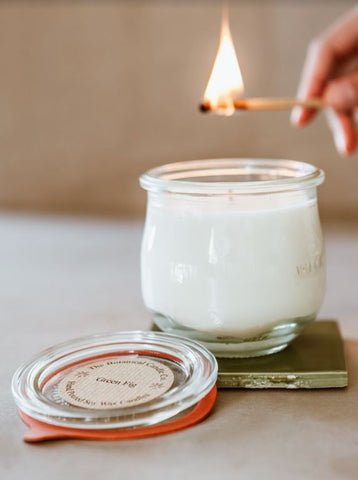 Green Fig Soy Wax Candle