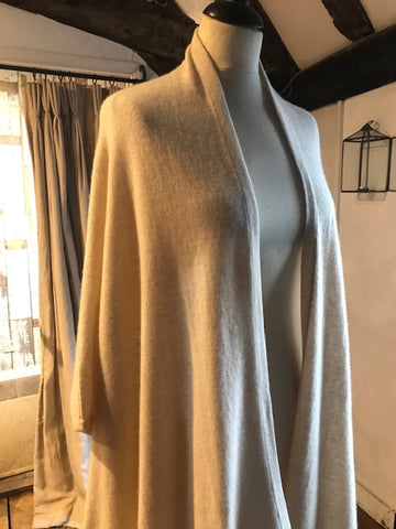 Cream Cashmere Cardigan