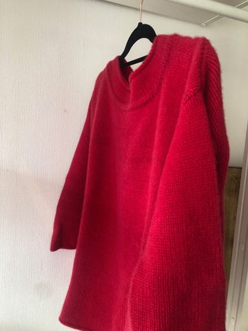 Red Cashmere Jumper by Cocowai