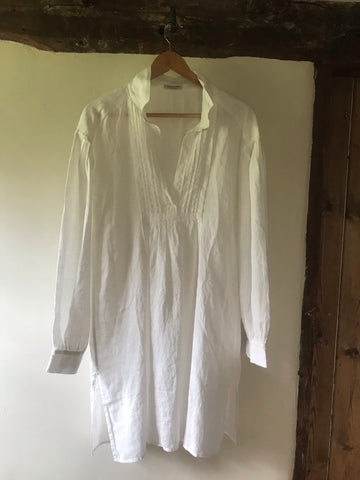 Linen 'Tolstoy' Artists Tunic