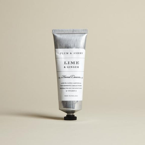 Lime & Ginger Hand Cream by Plum and Ashby