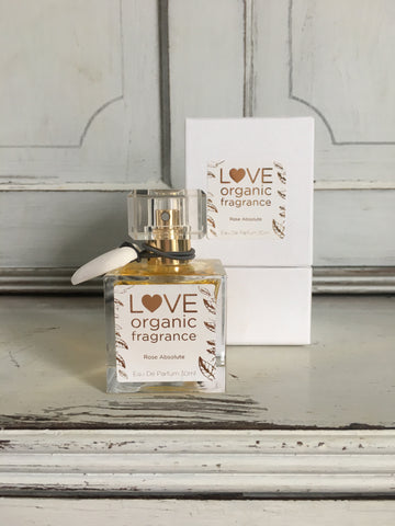Rose Absolute Perfume by Love Organic