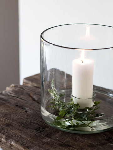 Recycled Glass Candleholder