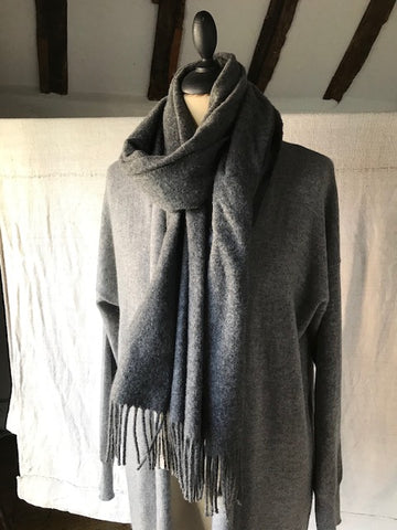 Grey Cashmere Cardigan