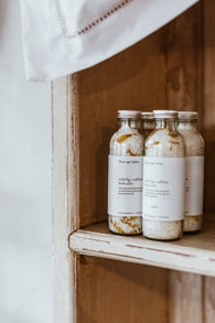 Wild Fig & Saffron Bath Salts by Plum and Ashby