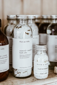 Seaweed & Samphire Bath Salts by Plum and Ashby