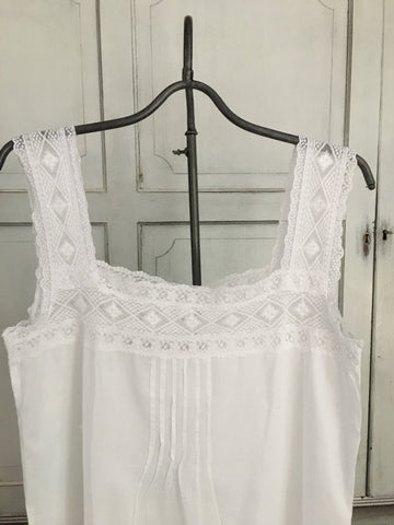 Cotton and Lace Nightdress