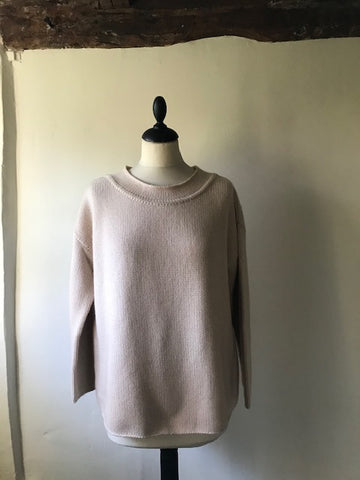 Pale Honey Cashmere Jumper