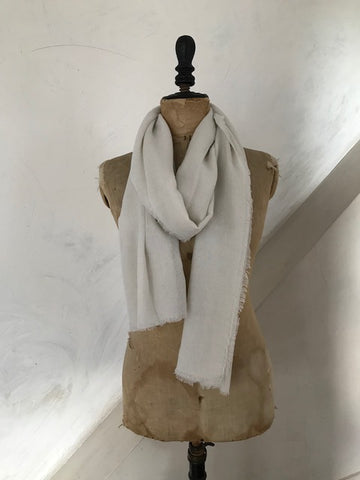 Stone Cashmere Scarf from Cocowai