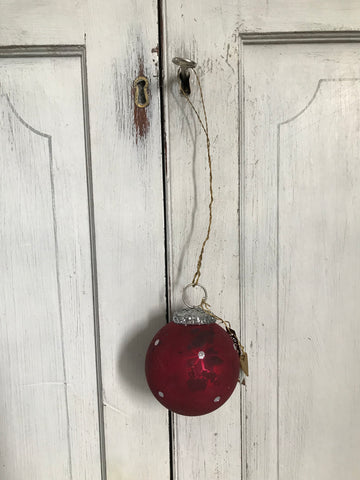 Red Glass Bauble