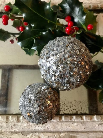 Sequinned Bauble