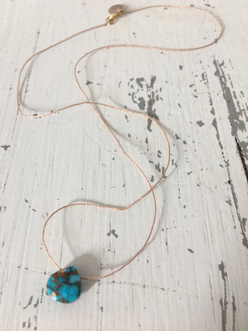Mohave Turquoise Necklace