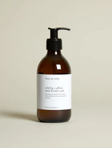 Wild Fig & Saffron Hand and Body Wash