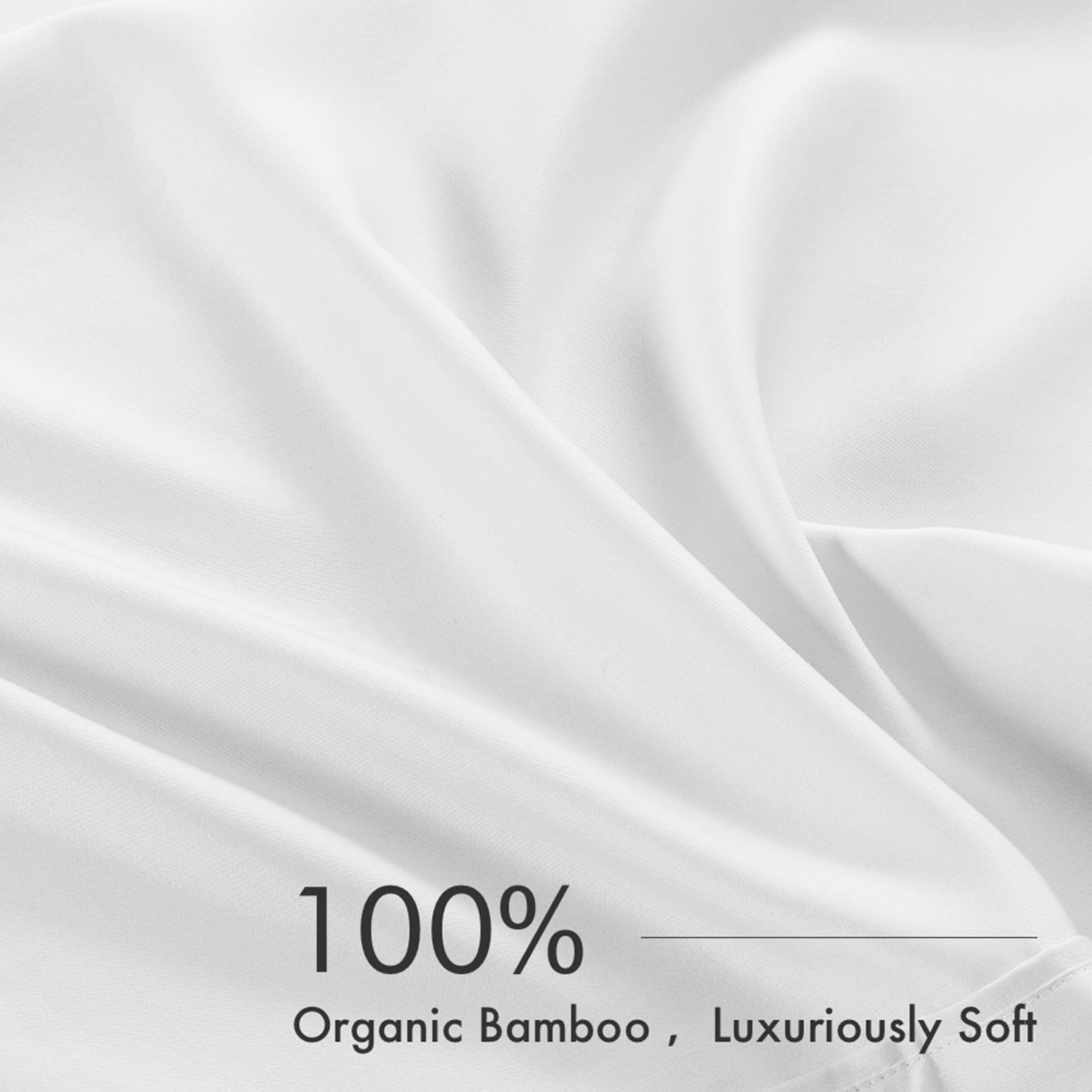 Bamboo Sheet Set - White 300TC