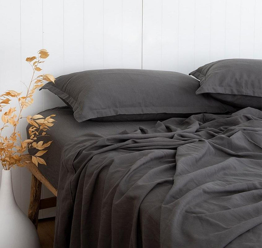 Linix Sheet Set - Charcoal