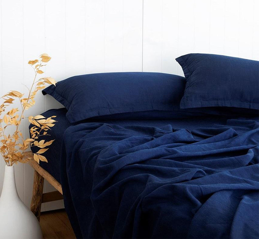 Linix Sheet Set - Navy