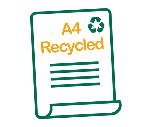 Letterheads - A4 Recycled - Australian Discount Printing