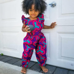 Elisamama kids girl jumpsuit