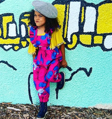 Elisamama kid in our jumpsuit