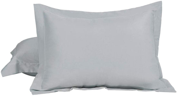 uxcell 100% Brushed Microfiber Standard Pillow Shams Set of 2, Wrinkle, Fade, Stain Resistant, Envelope Closure, Beige Soft Pillowcases